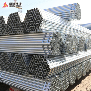 galvanized steel pipe from tianjin