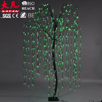 250cm holiday decoration christmas motif simulate waterpoof outdoor willow tree light