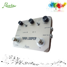 Twin Looper R3 guitar looper pedal with 11 plays
