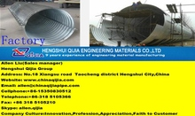 flange corrugated metal pipe assembled corrugated steel culvert pipe for roadway construction materials