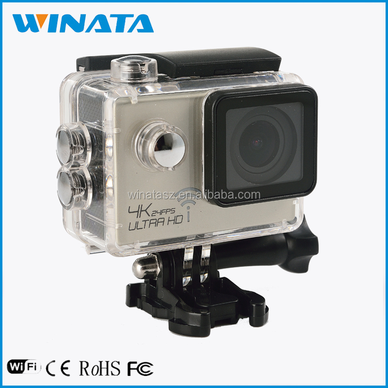 Full HD 16MP Sports DV Action Camera Waterproof Helmet Camcorder Go pro 4K 2.0""