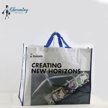 New arrival custom design shoes bag pp woven bag for packing