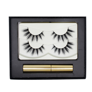 Natural False Eyelashes Fashion Fake Eyelashes Cross Messy Soft 3D Eye Lashes