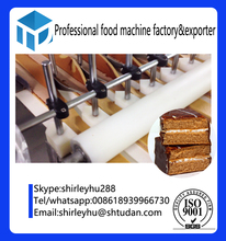 full automatic mini cake making machine gas oven for cup cake industrial swiss roll cake machine