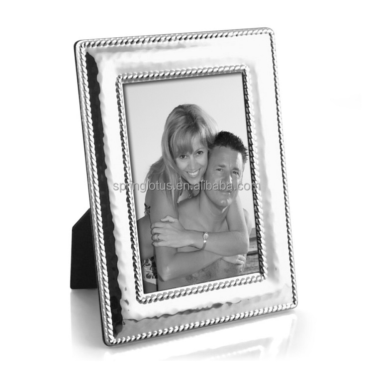 Rope Shape Metal Picture Photo Frame