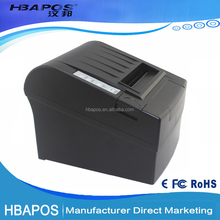Portable 80mm pos printer a4 bill small thermal receipt printer cheap barcode printer HBA-8220