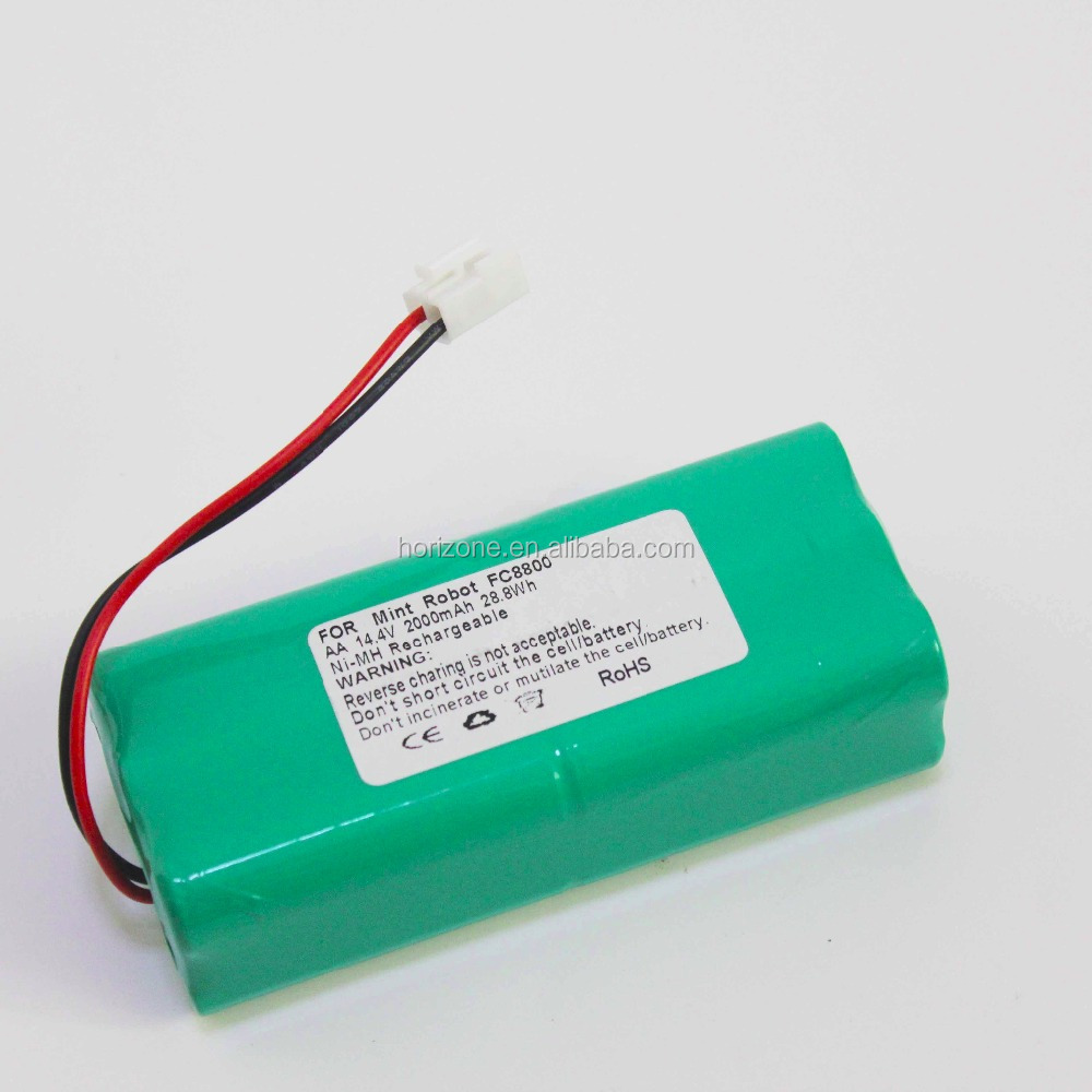 Replacement battery for Philips FC8800 FC8802 14.4V 2000mAh Ni-MH vacuum cleaner