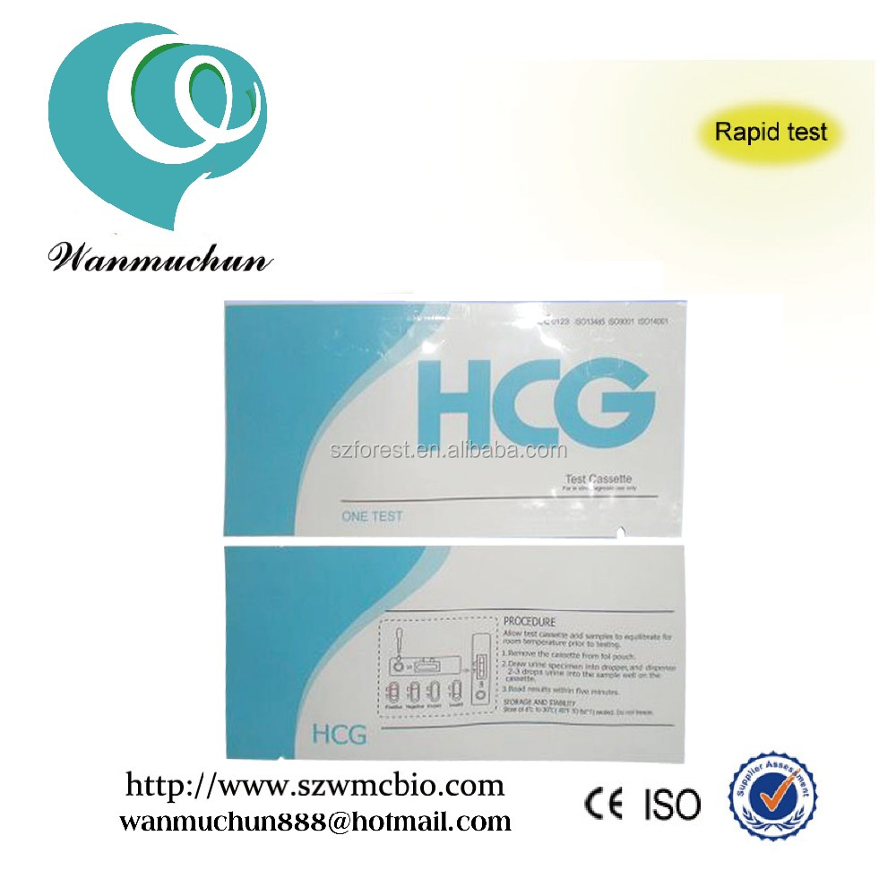 Home Pregnancy Test Equipment, Urine HCG Pregnancy Test Kits