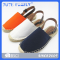 Color fashion espadrilles shoes