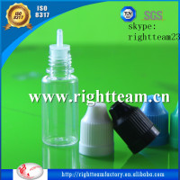 chemical empty bottle plastic,10ml PET empty plastic eliquid bottle