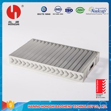 China manufacturing quality flight vehicle parts welded aluminum case