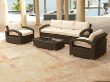 Outdoor furniture terrace rattan balcony sofa set (DH-N9006)