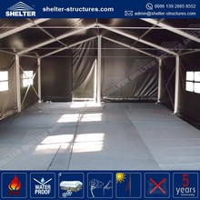 Extensible Military Tent Garage With 8m Width 8x30m