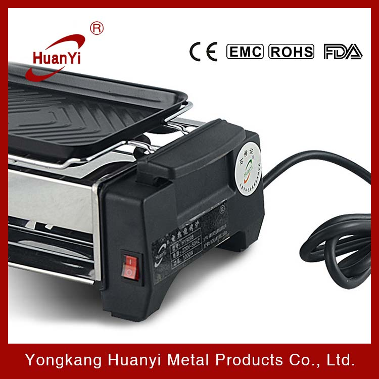 hot selling 1200W electric BBQ grill,constant temperature sausage grill
