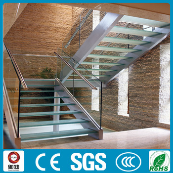 Tempered Glass Panel Stairs Glass Staircase Tempered Glass Stair Tread Price