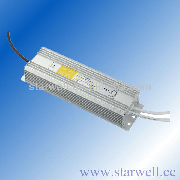 outdoor Use Ip67 Constant Current 150w Led Driver CE RoHS approved 24V 150W