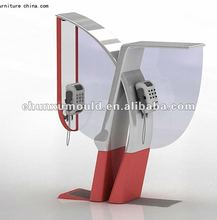 customer designed public phone booth / telephone booth,rotomolded
