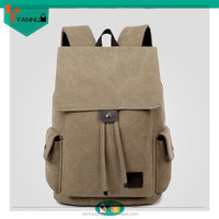latest arrival wholesale fashion durable portable ventilate canvas laptop backpack laptop computer bag for teenagers made custom