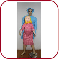 Sexy man and animal mating inflatable dolls pictures 2 person costumes PGMC-1872