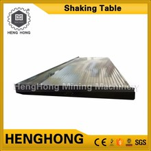 Henghong africa gold mining processing equipment china leading shaking table for gold ore
