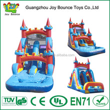 double lane inflatable water slides wholesale