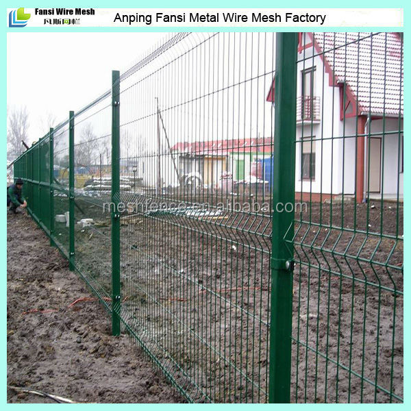 Hot sale 2015 -Powder coated wire mesh fence wholesaler skype id fansi004