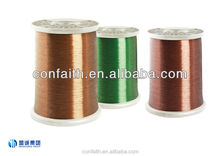 Enameled aluminum wire for winding and transformers