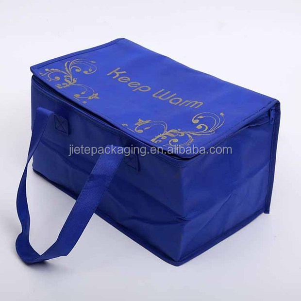 Best price pp non woven keep warm shopping bag with zipper