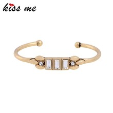 2017 Gold popular new simple trends style magnetic copper bracelet