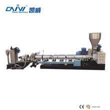 single screw granulation machine apply in hollow products