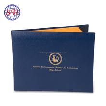 New arrival high quality standard diploma cover for awards