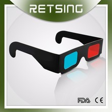 Anaglyph Red Blue 3D Glasses For Funny 3D Film With Wonderful Vision