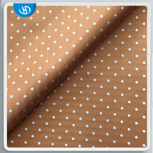 Free Sample Tie Fabric Printing Dotted Chiffon Indian Silk Fabric With Cheap Price