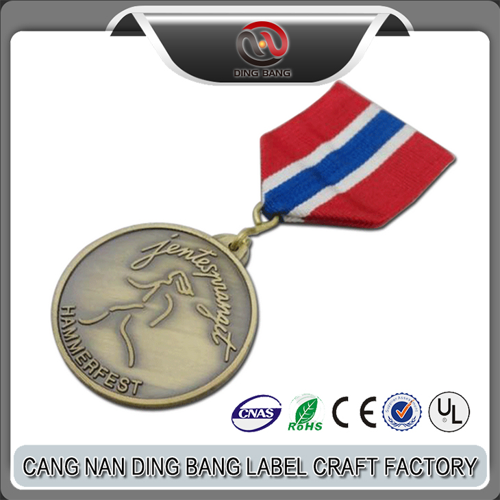 Professional OEM Factory Custom Bronze Running Sports Award Souvenir Metal Trophy