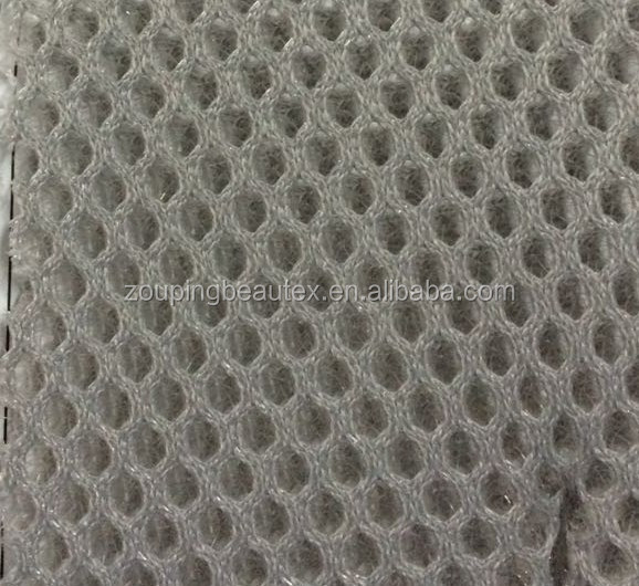 polyester warp knitted 3D air spacer sandwich mesh fabric for ventilation and mattress material