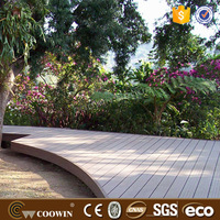 Outdoor luxury parquet plastic wood laminate decking flooring