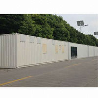 Portable container house, efficient construction