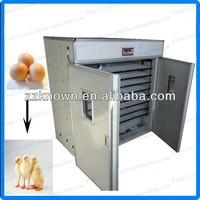 CE approve egg hatcher 2112 pcs incubator with egg turner