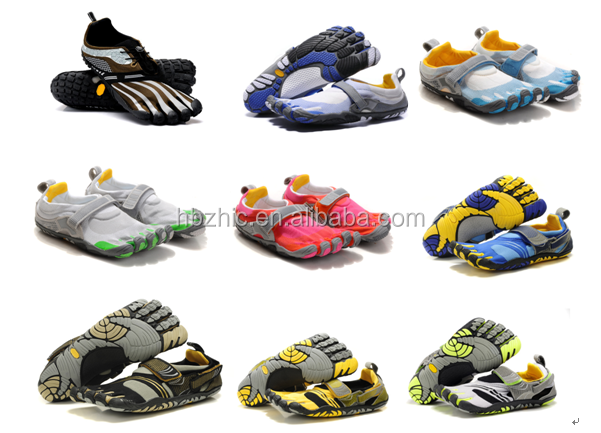 2015 low price finger shoes name brand shoes for men Latest best price moq four or five pairs mountain climbing finger shoes