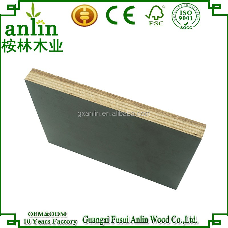E1 Formaldehyde Emission Standards and Outdoor Usage Film Faced Plywood