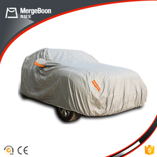 Waterproof automatic to store the foldable car dust covers