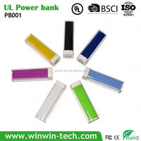 Lipstick UL approved power bank pen
