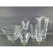 Acrylic Plastic Tableware Set Dinnerware