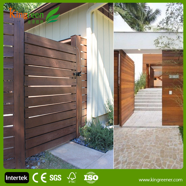 Kingreen Easy Installation Composite Fence Posts Wood