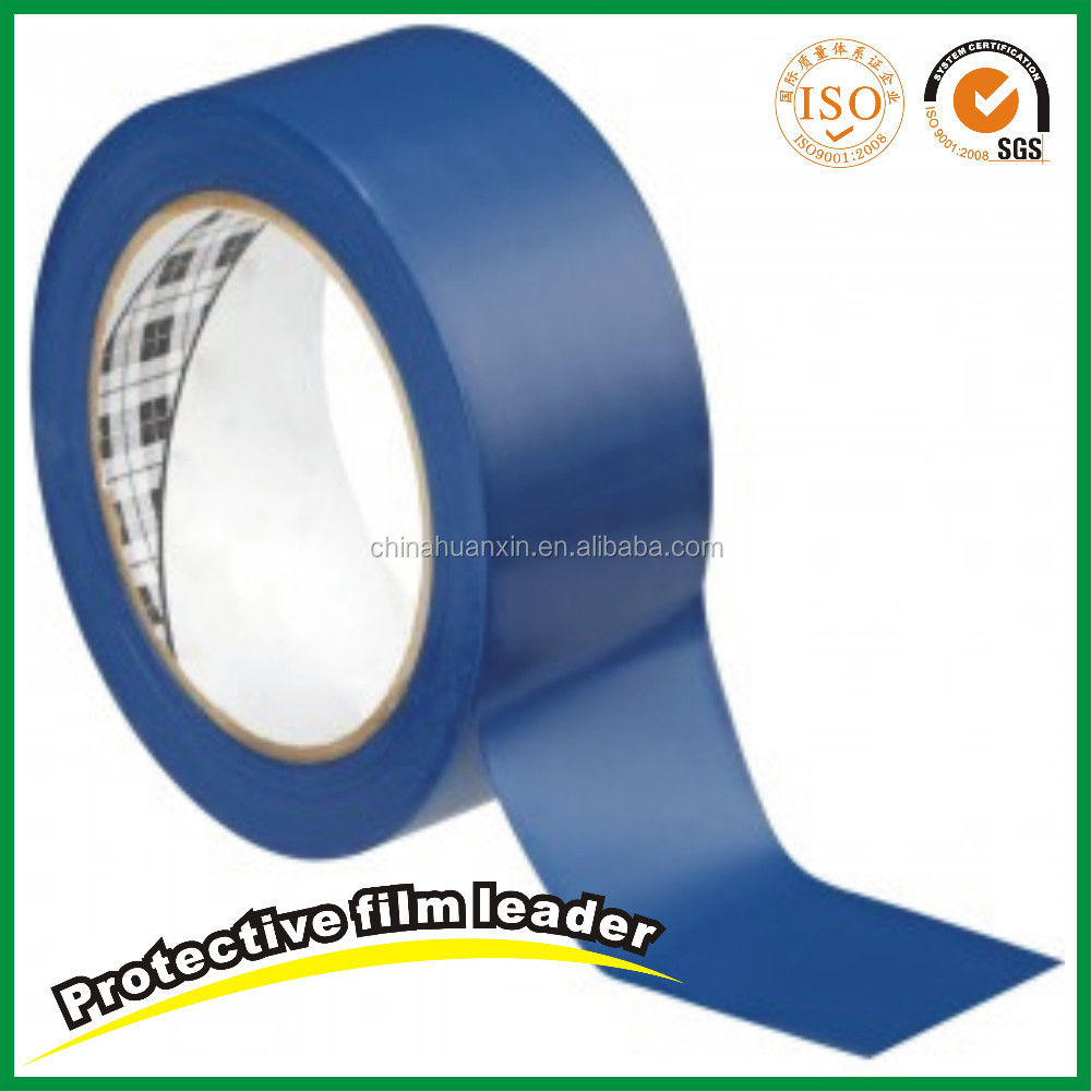 Manufacture High Quality Plastic 180micron Stainless Steel Blue PE Protective Film