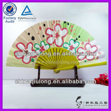handmade products handicrafts made of bamboo fan hand