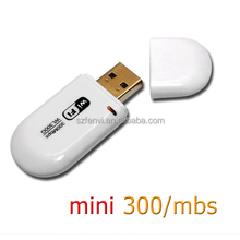 RTL8191SU Mini USB2.0 Wireless LAN Network Ethernet Adapter Converter wifi dongle 802.11b/g/n 300m wireless usb adapter