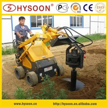 mini post hole self-propelled soil hole digger
