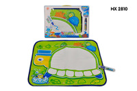 Kids Educational Toy Sea Turtle Water Doodle Drawing and Writing with pen (Green)