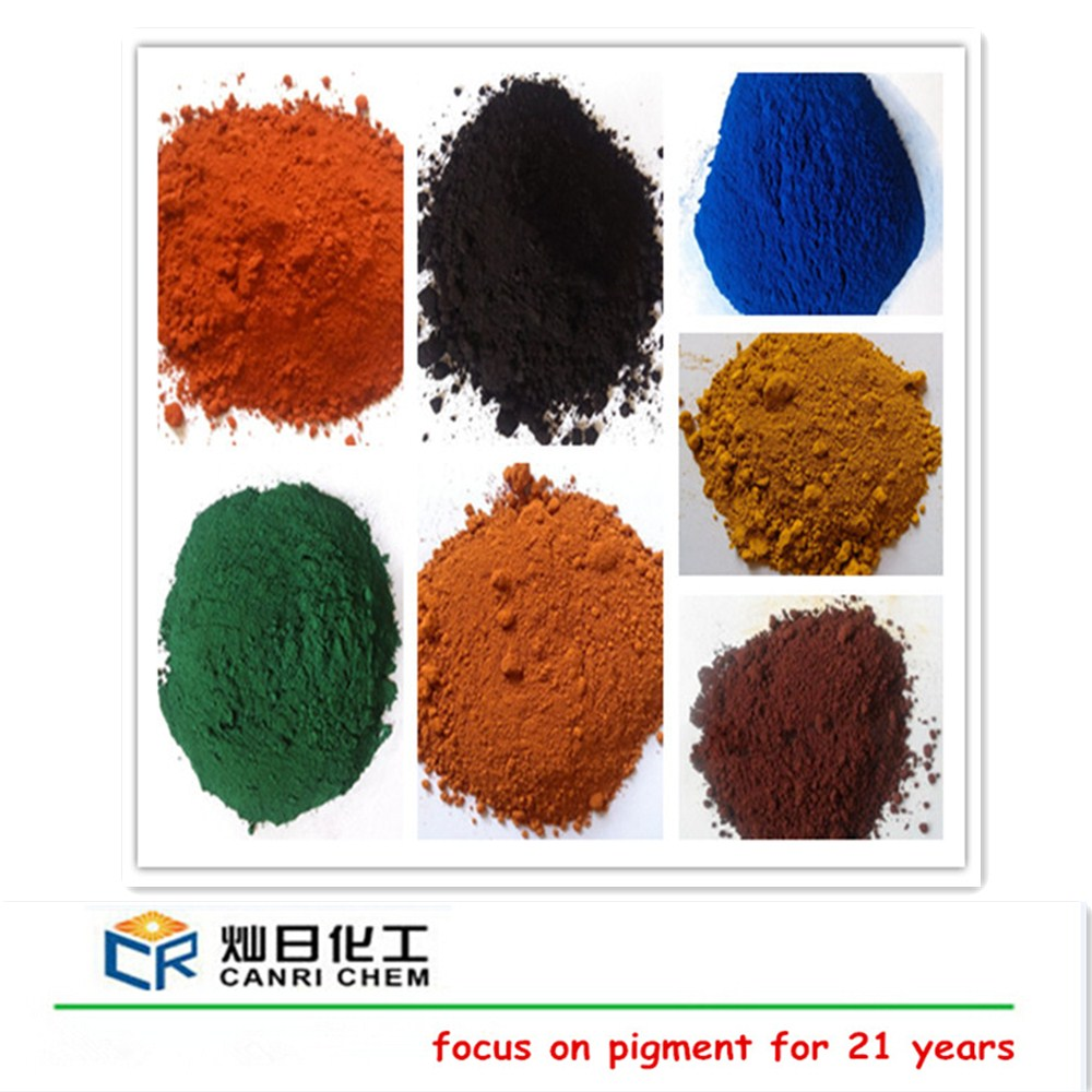 synthetic iron oxide color pigment for cold bitumen emulsion